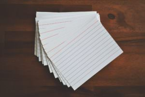 paper bar exam flashcards
